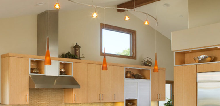 Design Studio West Kitchen Transformation Pendant Lights