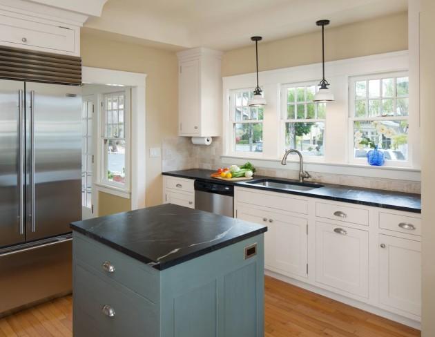small La Jolla kitchen remodel