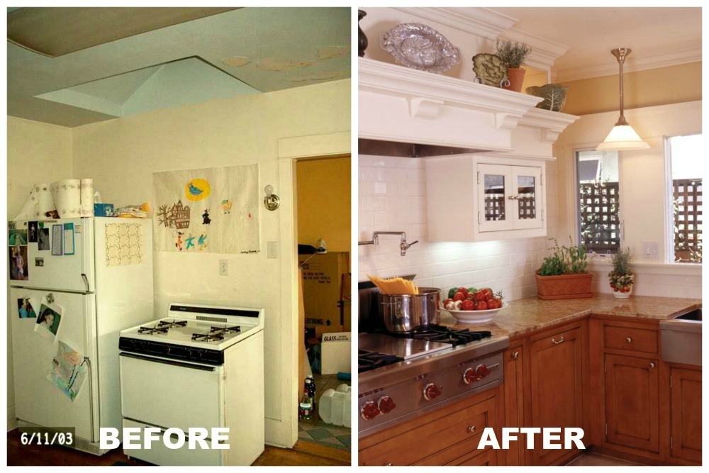 Exceptionnel Kitchen Makeover #2: A Teeny 1930s Kitchen Meets The 21st Century. Small  Kitchen Remodel